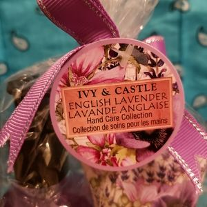Free Lavender lotion and body wash